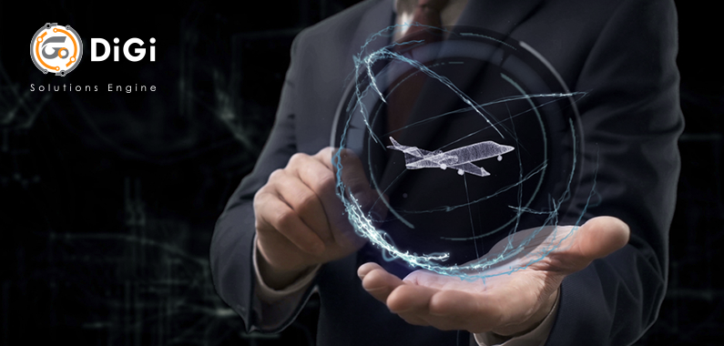 DIGITAL TECHNOLOGY IN AVIATION INDUSTRY